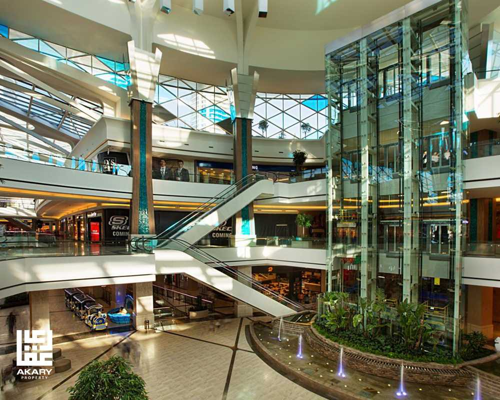 commercial mall in Turkey
