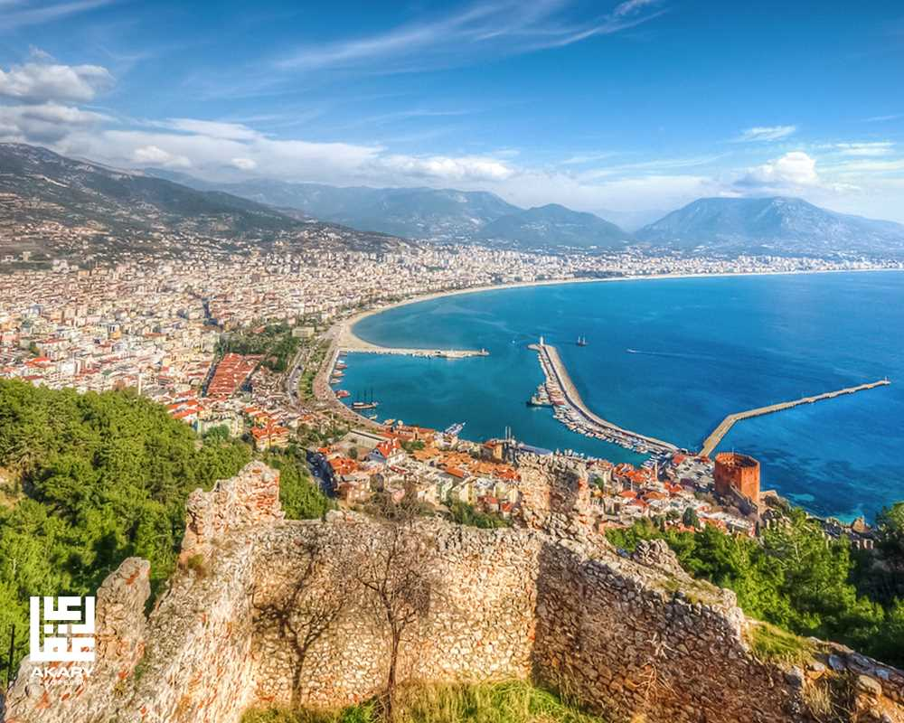 Tourist area in Turkey