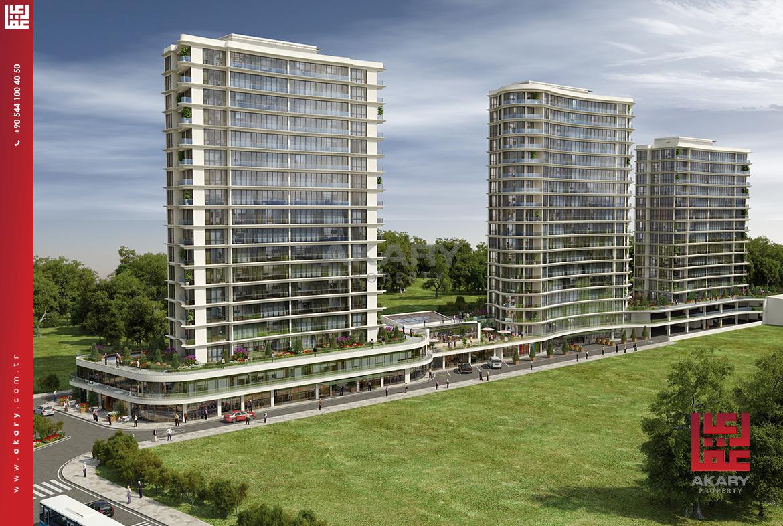 Apartments for sale in Basın Ekspres
