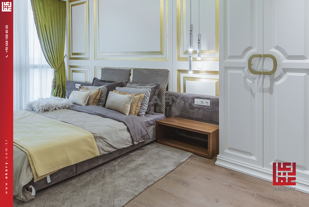 Investment apartments with hotel decoration