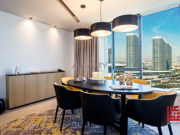 Luxury oriental apartments in Basın Ekspres